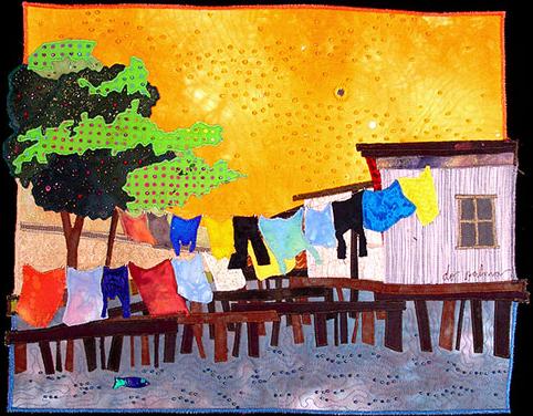 vietnamese laundry <br>13 x 17