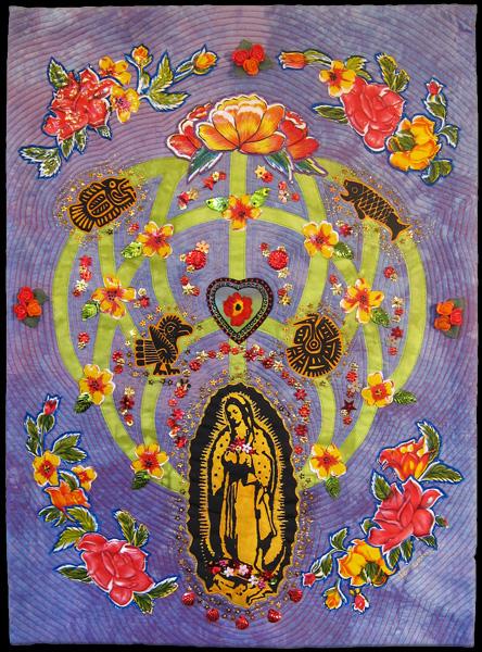 tree of life: aztec madonna <br>18 x 24