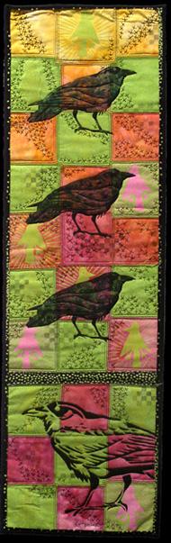 crow augury <br>42 x 13