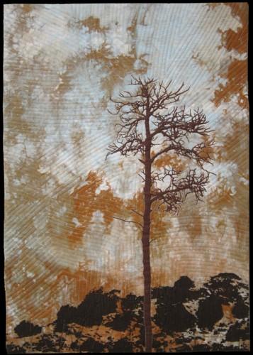 lone tree<br>16½ x 23½